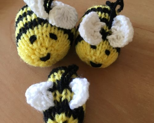 Knit or Crochet Bees